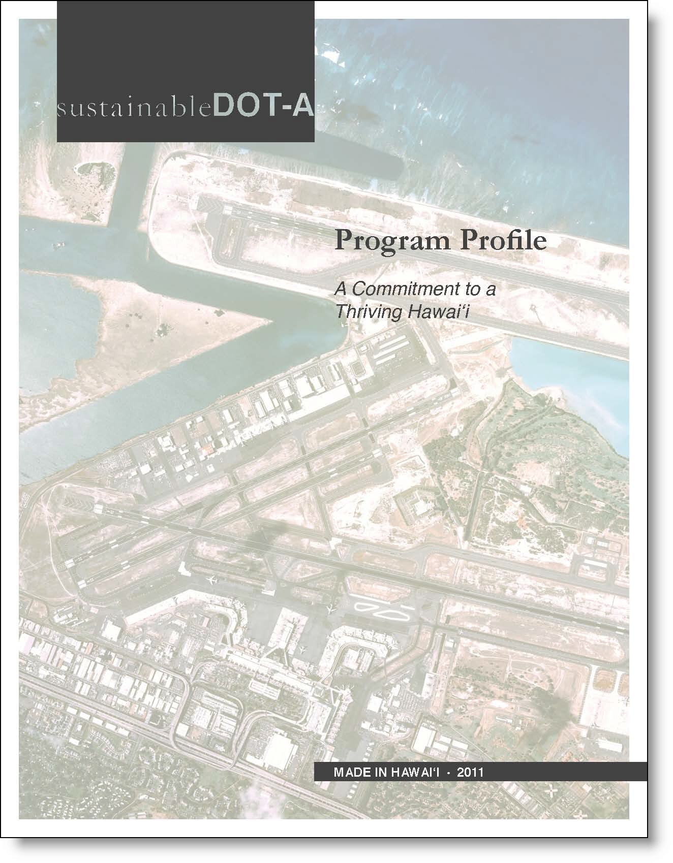 SustainableDOT-A Program Profile Cover