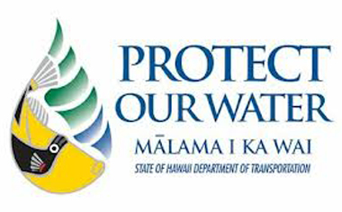 protect our water, malama i ka wai