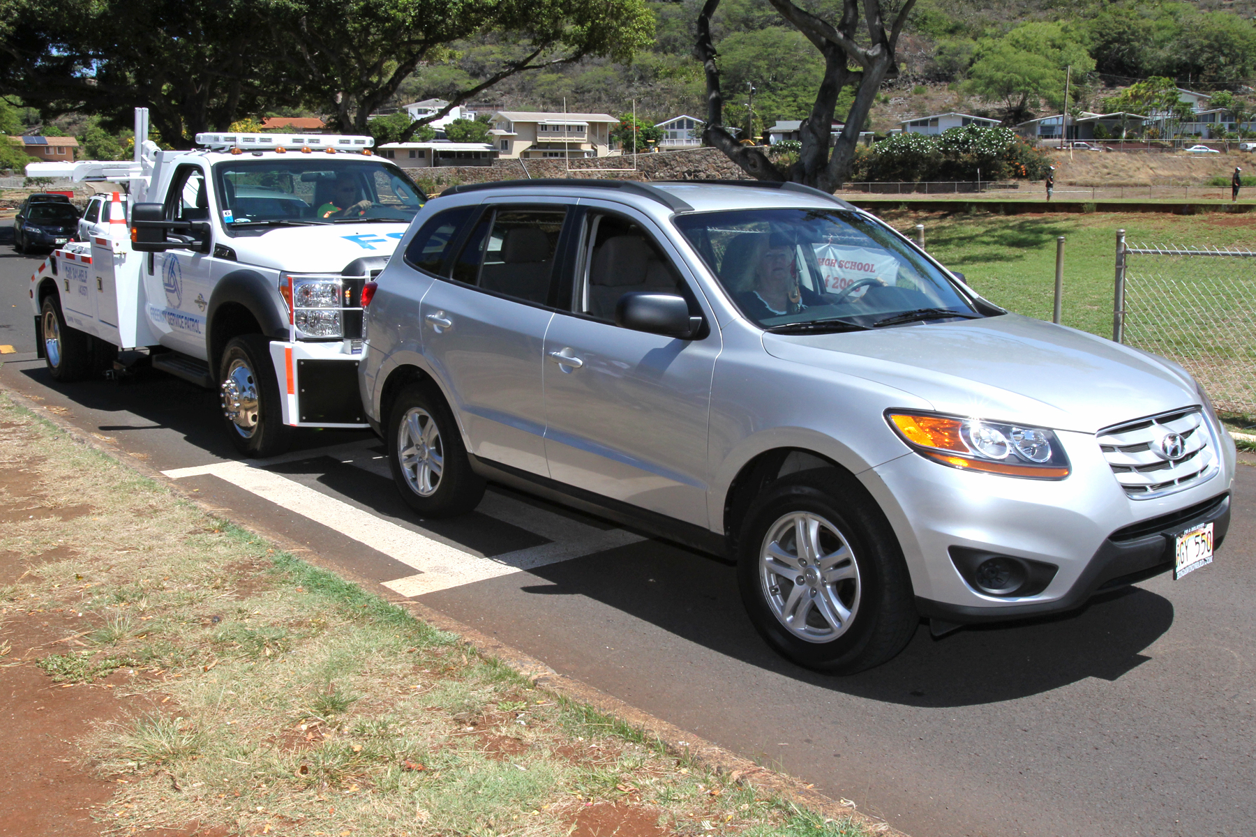 Department of transportation freeway service patrol to for Kuhio motors service department