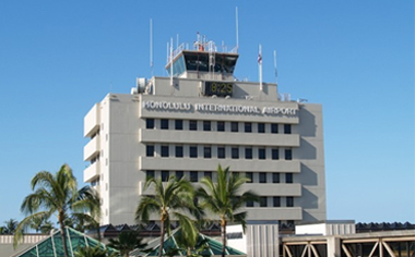 photo of Honolulu International Airport tower