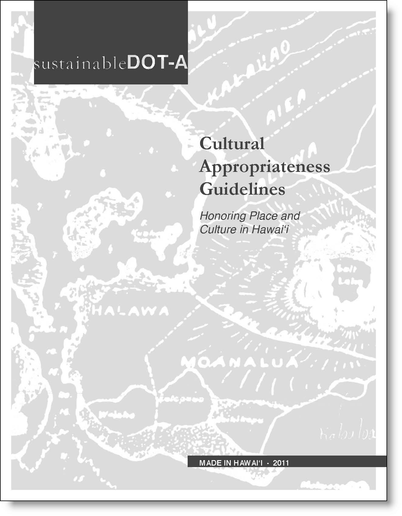 Cultural Appropriateness Guidelines (CAG) Cover