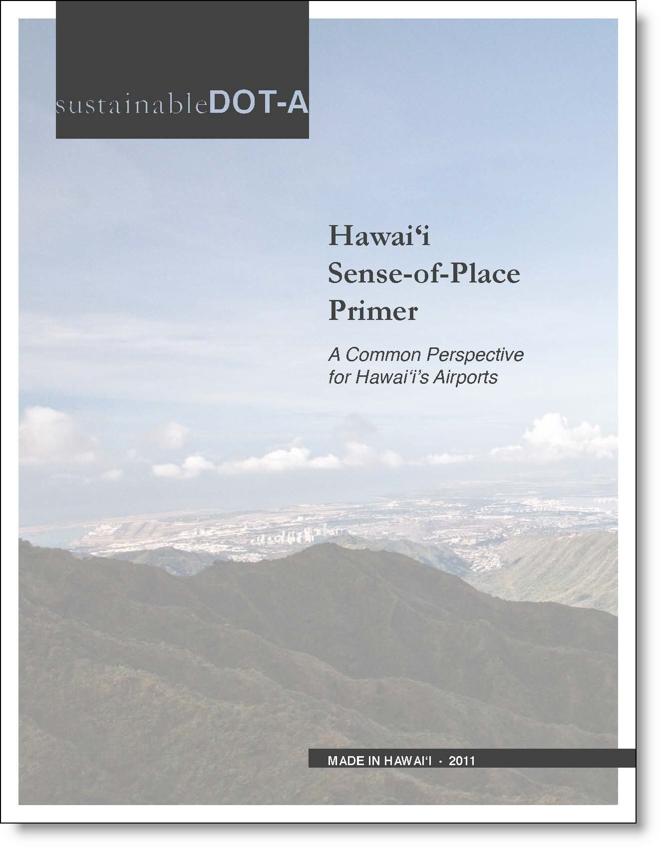 Hawaii Sense of Place Primer (HSPP) Cover