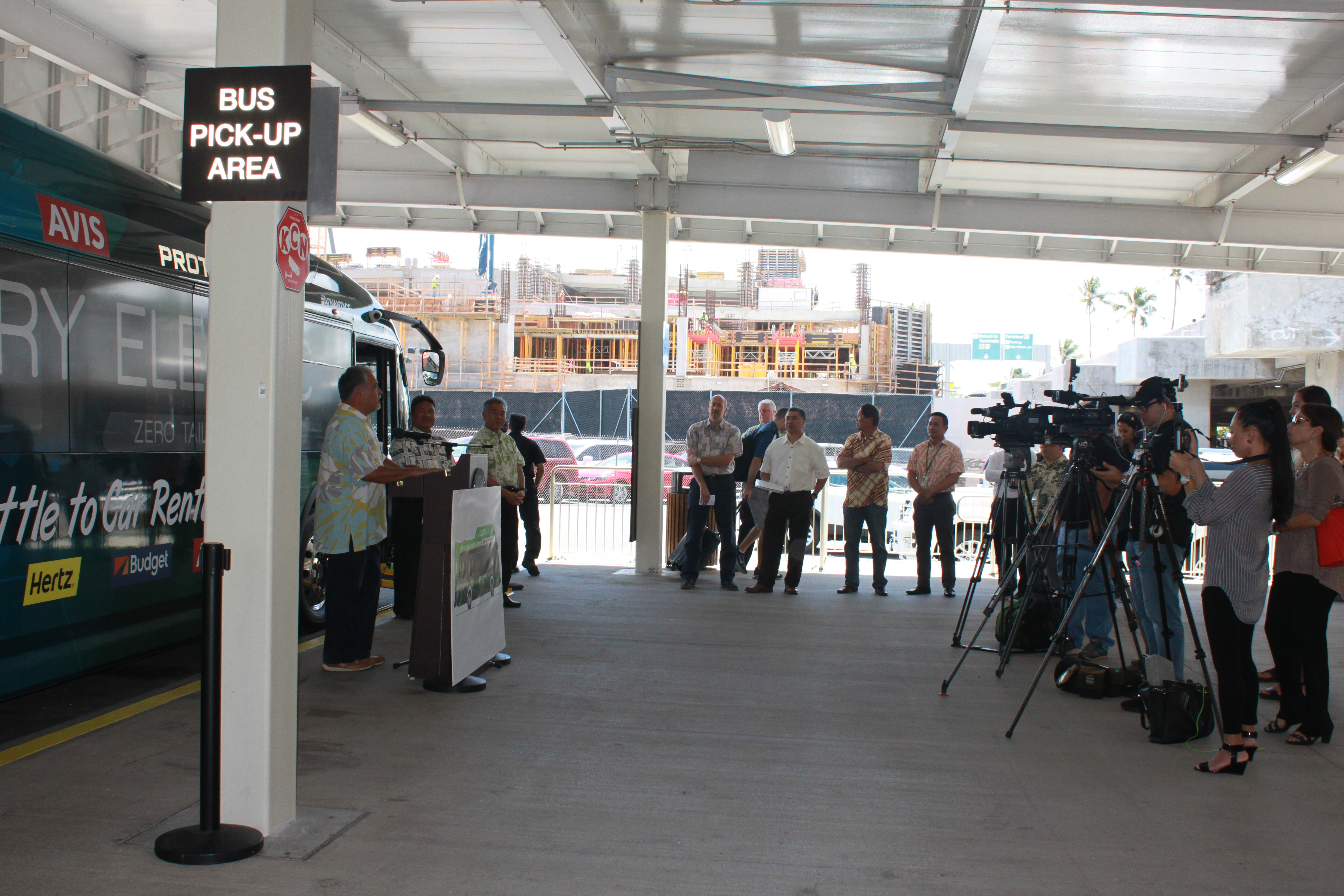 Airports Governor Ige Announces Consolidated Rental Car