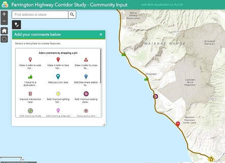 Farrington Highway Corridor Interactive Map