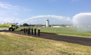 Groundbreaking ceremony for the new Aircraft Rescue & Firefighting Station  at Hilo International Airport