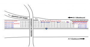 H1 WB Lane Modifications Pearl City Viaduct