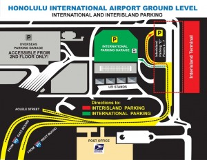HNL International Parking Garage