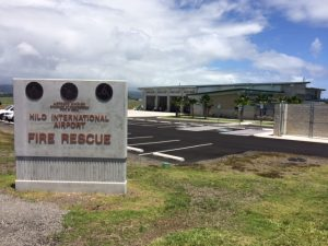 Hilo International Airport's new Aircraft Rescue and Fire Fighting (ARFF) station