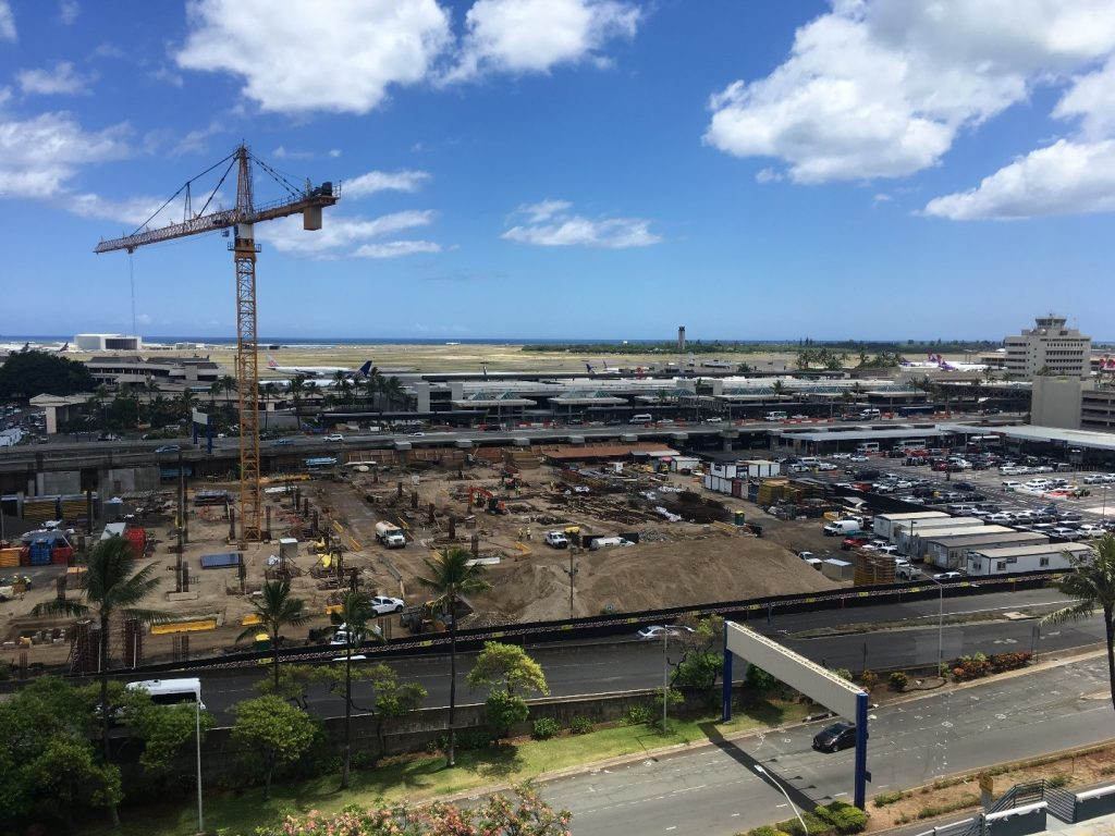 HNL CONRAC Construction Site
