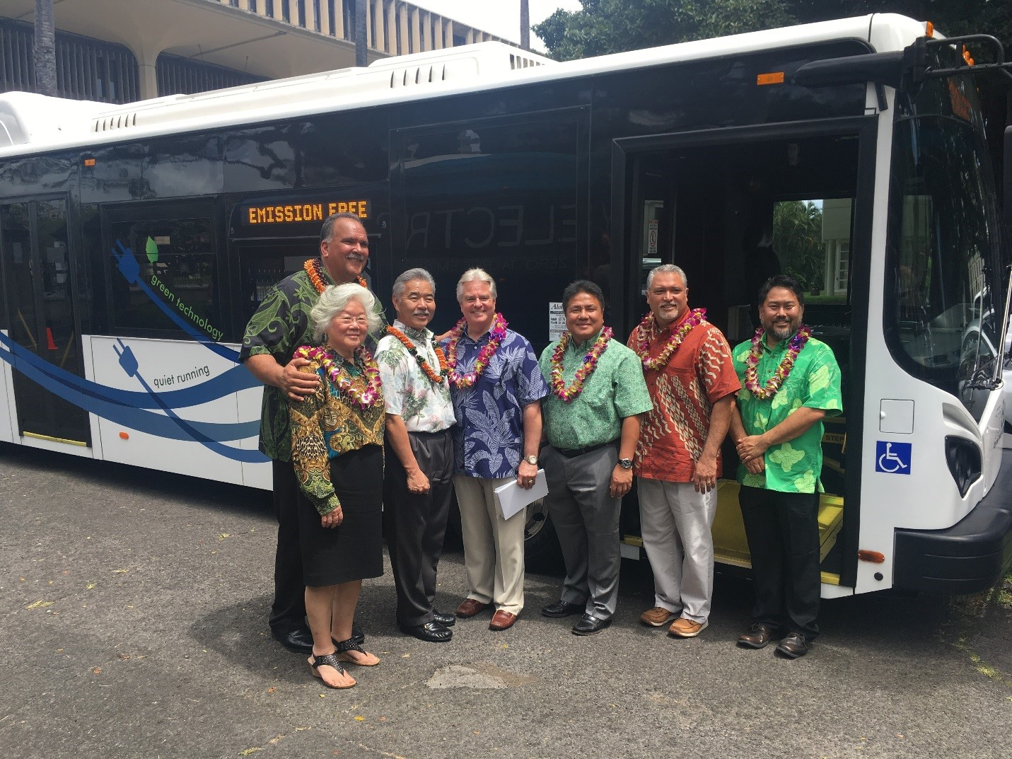 Highways Electric Bus Demonstration Showcases Sustainable Ground Transportation Future For Hawaii