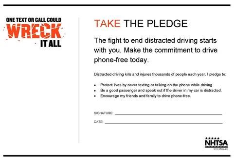 Highways | April is National Distracted Driving Awareness Month