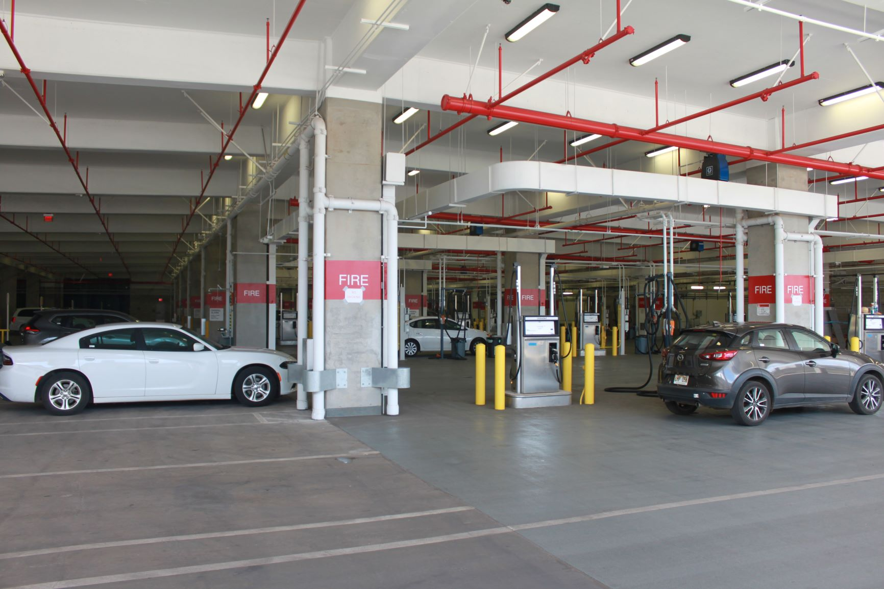 Department Of Transportation New Kahului Airport Rent A Car Center Completed On Time And On Budget