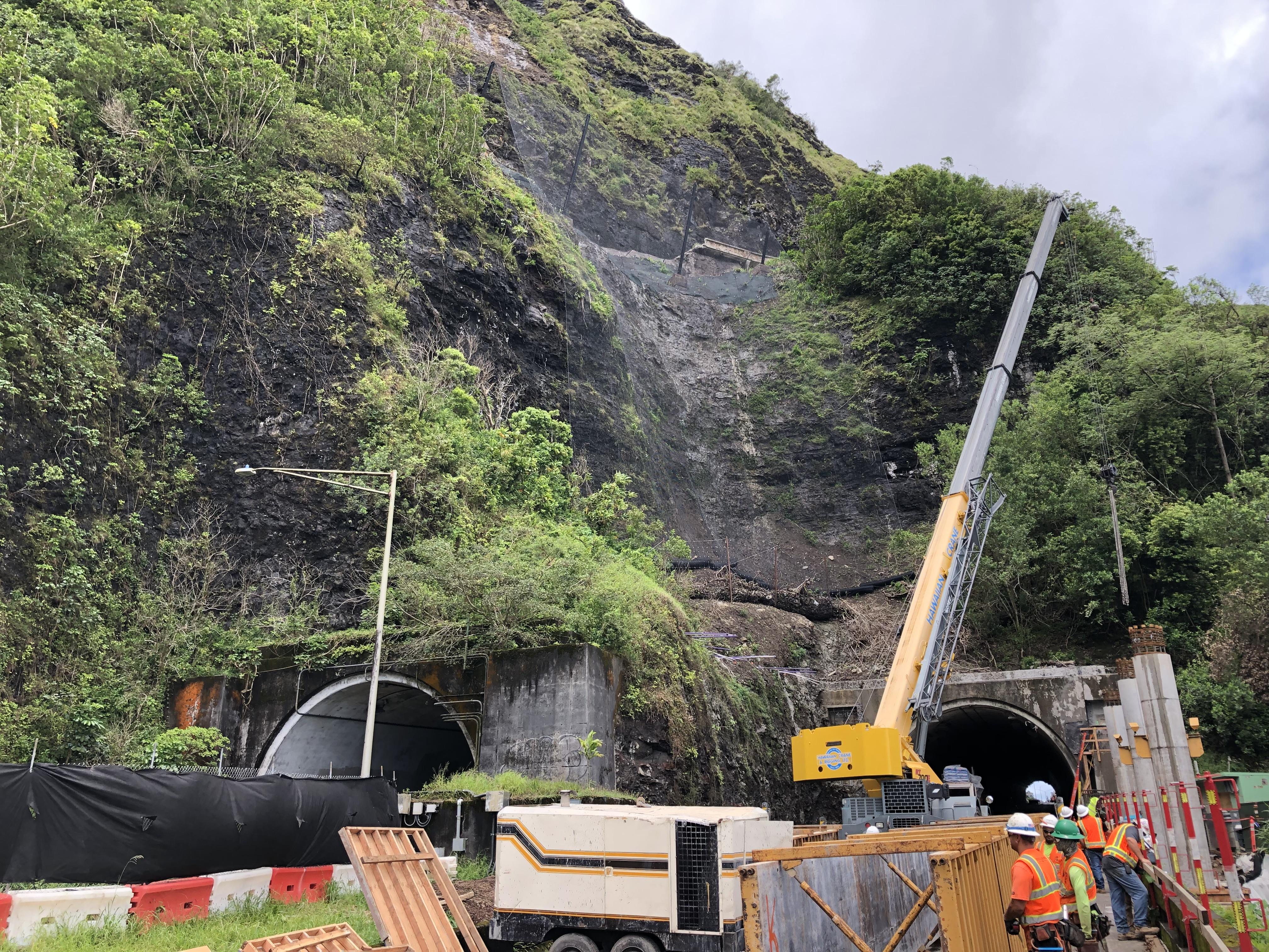 Pali Highway Resurfacing