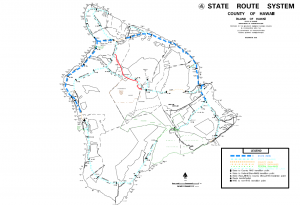 Hawaii Island State Routes